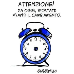 Vignetta di Mauro Biani per Il Manifesto